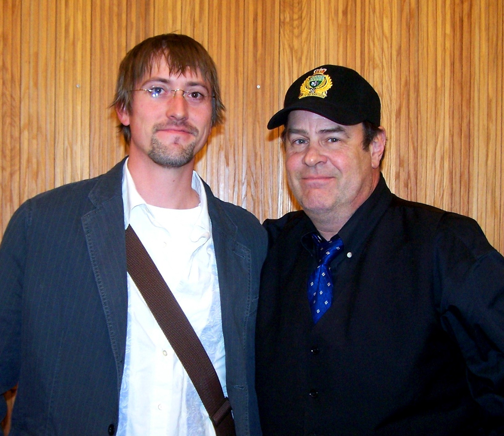 Author Noah Voss and Dan Aykroyd UFOlogist Supporter