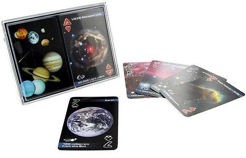The Best UFO Christmas Store Outer Space Astronomy Playing Cards