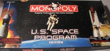 Outer Space Monopoly Game Gift Idea 2013