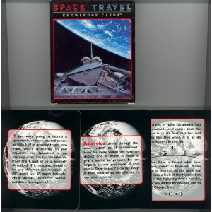 Outer Space Travel Quiz Card Game