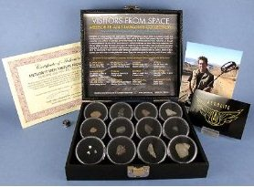 The Best Gift Ideas For 2012 Deluxe Real Meteorite Display Kit