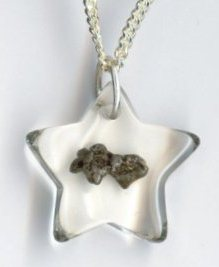 Best Kids Outer Space Theme Gift Ideas for 2012 Meteorite Star Necklace