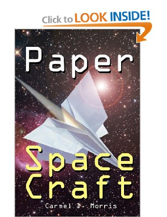 Outer Space Rocket Ship Paper Airplane Maker Book For Sale