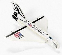 UFO Wisconsin Store Orbitor Space Shuttle Glider Toy Gift Idea