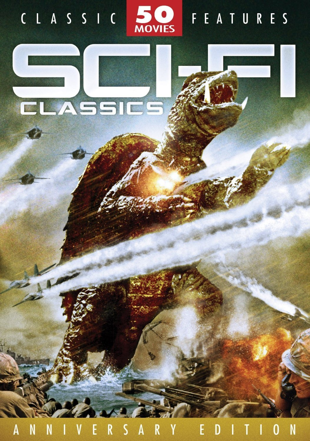 2012 Gift Ideas The 50 Best Science Fiction DVD Collection For Sale