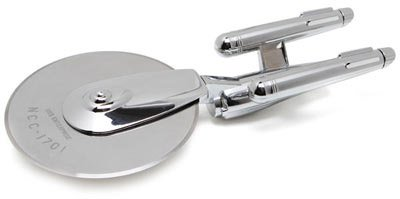 USS Enterprise Pizza Cutter Star Trek Fan's Dream