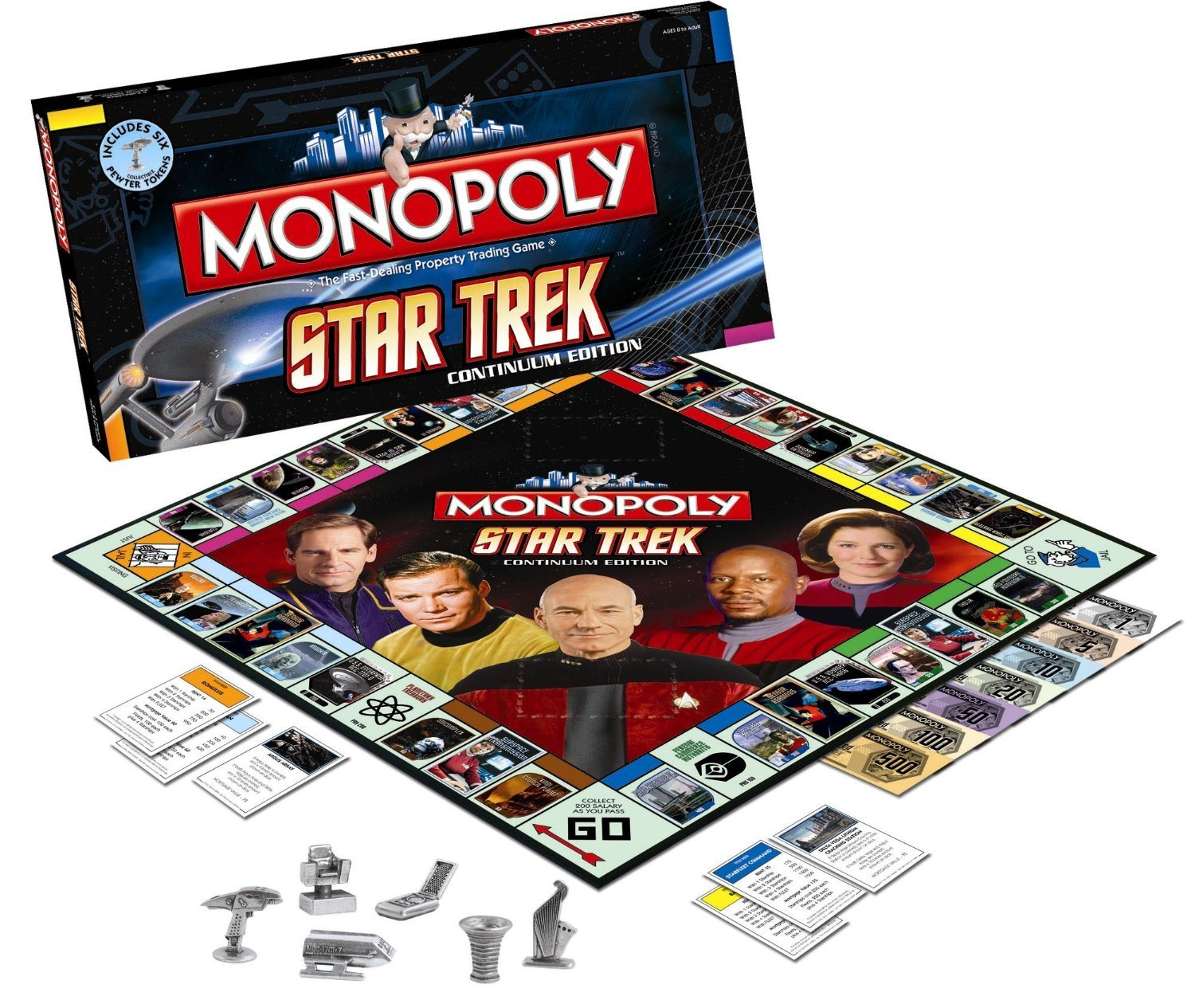 Best Sci Fi Gift of 2012 Star Trek Monoply Board Game For Sale