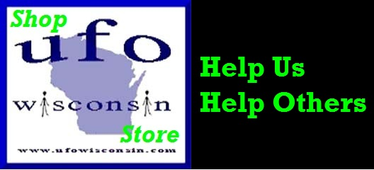 Support UFOwisconsin by visiting our unique store!