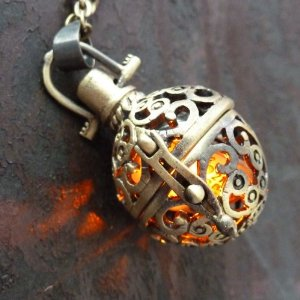 Steampunk LED Necklace Gift Idea