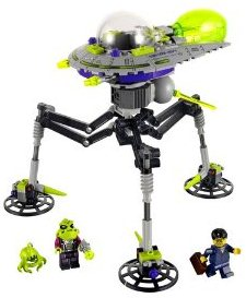 UFO Products LEGO Alien Tripod Saucer for sale