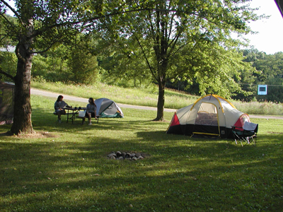 Camp at Bensons Campground